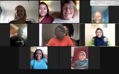 Go Girl! Virtual SALT visit of local teams from three continents to the Cho Ngafor foundation in Cameroon